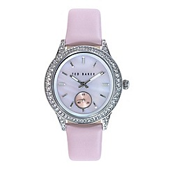 Ted Baker - Ladies pink dial pink leather strap
