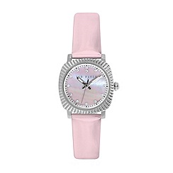 Ted Baker - Ladies pink dial pink patent leather strap