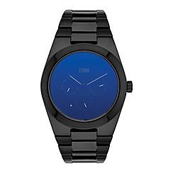 STORM - Gents lazer blue 'ZENTREK' watch