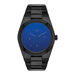 STORM - Gents lazer blue 'ZENTREK' watch