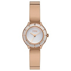 STORM - Ladies rose gold 'ZYLA' watch