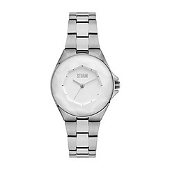 STORM - Ladies silver/white 'CRYSTANA' watch