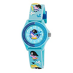 Peppa Pig - Boy's blue dial analogue display watch with blue silicone strap
