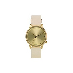 KOMONO - Ladies pastel cream strap watch
