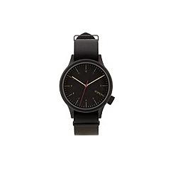 KOMONO - Mens black strap watch