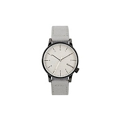 KOMONO - Men's Heritage duotone grey strap watch