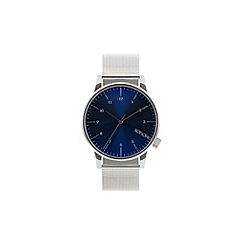KOMONO - Men's Royale silver blue strap watch