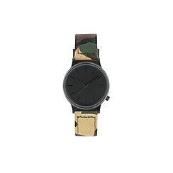 KOMONO - Ladies M81 camo printed strap watch