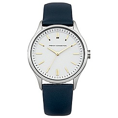 French Connection - Ladies blue strap watch