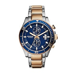 Fossil - Men's two-tone Wakefield chronograph