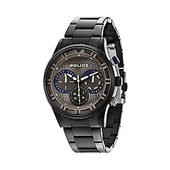 Police - Men's grey dial grey bracelet watch