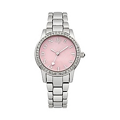 Lipsy - Ladies silver tone bracelet watch