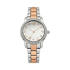 Lipsy - Ladies two tone bracelet watch lp304