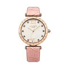 Lipsy - Ladies pink strap watch