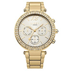 Lipsy - Ladies rgold tone bracelet watch