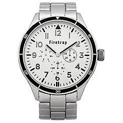 Firetrap - Men's silver tone bracelet watch