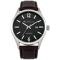 Ben Sherman - Men's brown strap watch