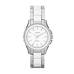 DKNY - Ladies silver Westside watch