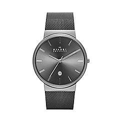 Skagen - Ancher Men s Steel Wave Link Watch skw6108