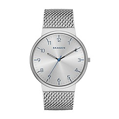 Skagen - Ancher Men s Steel Mesh Watch