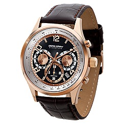 Jorg Gray - Men's brown face signature Watch