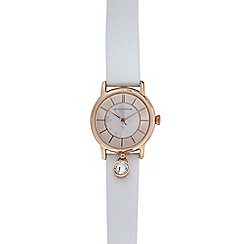 RJR.John Rocha - White charm watch with gift box