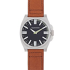 RJR.John Rocha - Tan leather strap tonneau watch