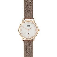 Van Peterson 925 - Ladies grey stone analogue watch