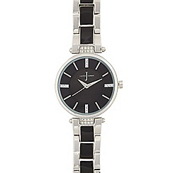 J by Jasper Conran - Ladies black regular t bar watch