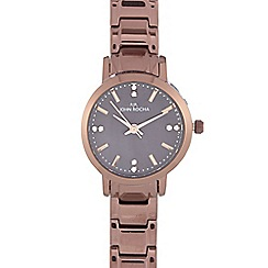 RJR.John Rocha - Ladies brown bracelet analogue watch