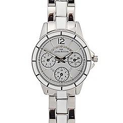 RJR.John Rocha - Ladies stainless steel two tone bracelet watch