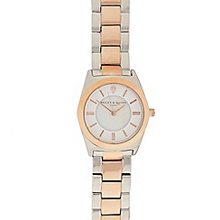 Bailey & Quinn - Ladies rose gold plated analogue watch