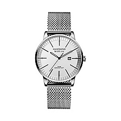 Hammond & Co. by Patrick Grant - Men's watch with steel Milanese strap