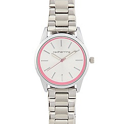Red Herring - Ladies silver plated analogue watch