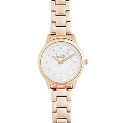 Principles by Ben de Lisi - Ladies rose gold watch