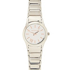 Red Herring - Ladies silver plated bracelet analogue watch