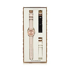 Red Herring - Ladies' rose gold plated analogue watch in a gift box