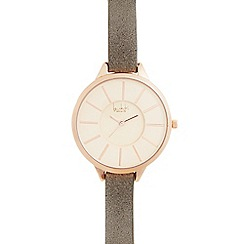Principles by Ben de Lisi - Ladies taupe watch