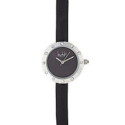 Principles by Ben de Lisi - Ladies black diamante bezel watch