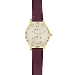 Mantaray - Ladies gold toned watch