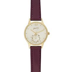 Mantaray - Ladies gold toned watch