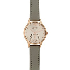 Mantaray - Ladies rose gold toned watch