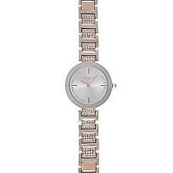 Infinite - Ladies silver plated watch