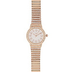 Infinite - Ladies rose diamante watch