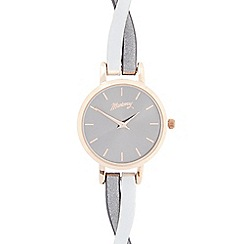 Mantaray - Ladies brown crossover analogue watch