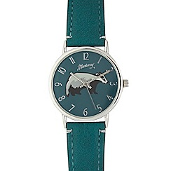 Mantaray - Ladies green badger dial watch