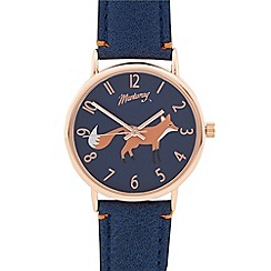 Mantaray - Ladies navy fox dial watch