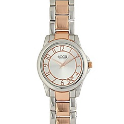 Floozie by Frost French - Ladies silver plated analogue watch