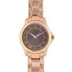 Floozie by Frost French - Ladies rose gold plated analogue watch