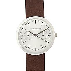 Red Herring - Ladies brown mock multi dial watch